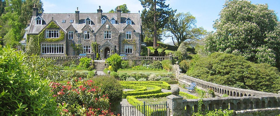 Penmaenuchaf Hall Hotel Welsh Country Manor House Set In Snowdonia National