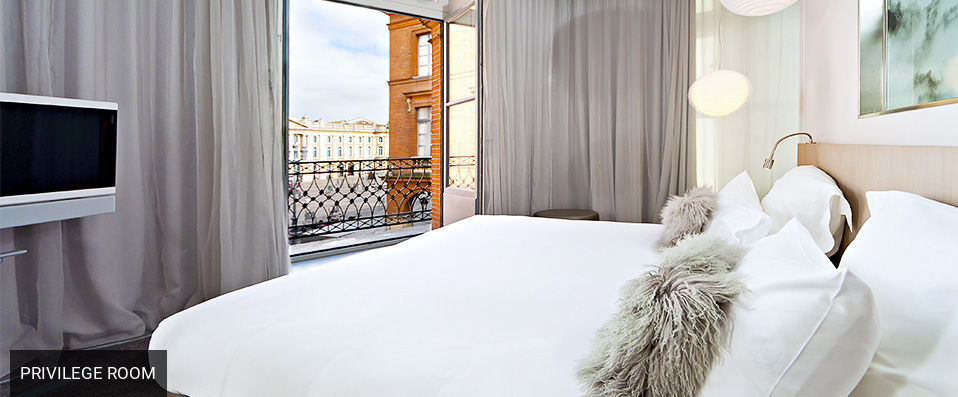 Le Grand Balcon <span class='stars'>&#9733;</span><span class='stars'>&#9733;</span><span class='stars'>&#9733;</span><span class='stars'>&#9733;</span> - Style is the answer in the pink city. - Toulouse, France