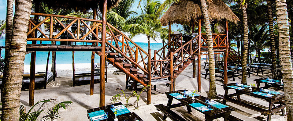 El Dorado Seaside Suites Spa Resort <span class='stars'>&#9733;</span><span class='stars'>&#9733;</span><span class='stars'>&#9733;</span><span class='stars'>&#9733;</span><span class='stars'>&#9733;</span> - Adults Only - Supreme opulence with beautiful beaches and coral reefs nearby. - Tulum, Mexico