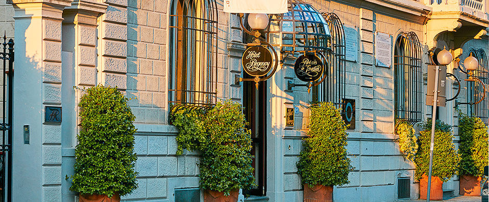 Hotel Regency *****   Get Lost In History And Carried Away By