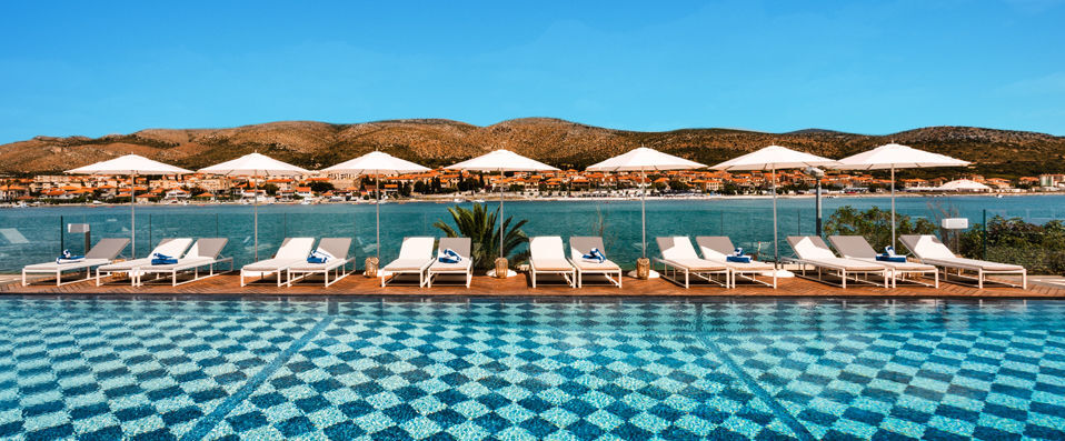 Hotel Brown Beach House Trogir Split Verychic Exceptional
