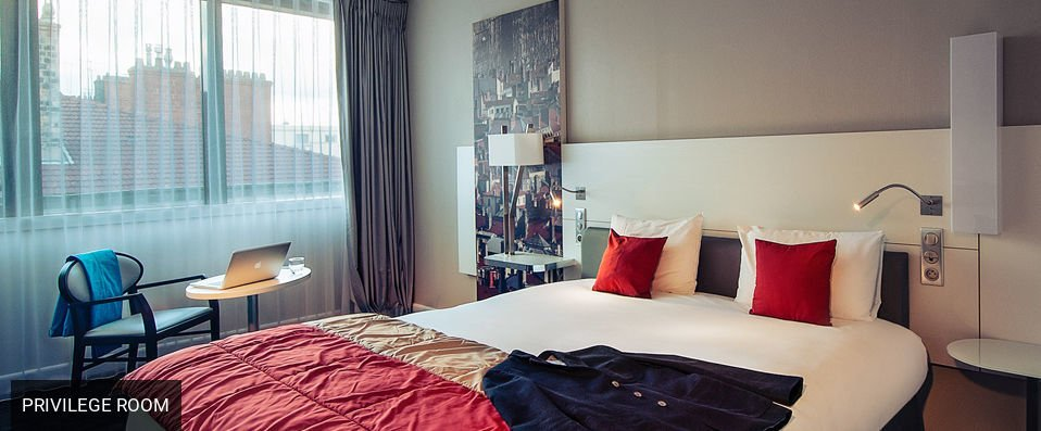 Mercure Lyon Centre Saxe Lafayette <span class='stars'>&#9733;</span><span class='stars'>&#9733;</span><span class='stars'>&#9733;</span><span class='stars'>&#9733;</span> - A stylishly designed hotel with a great central location. - Lyon, France