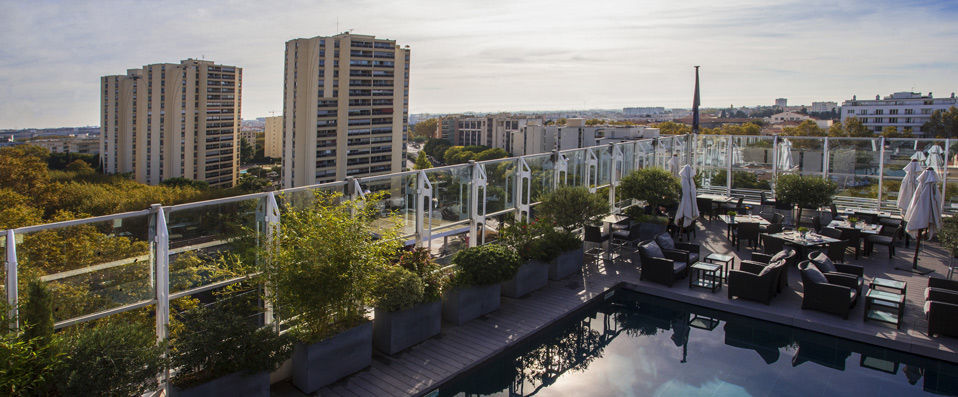 Pullman Montpellier Centre <span class='stars'>&#9733;</span><span class='stars'>&#9733;</span><span class='stars'>&#9733;</span><span class='stars'>&#9733;</span> - City break montpelliérain et vue panoramique. - Montpellier, France