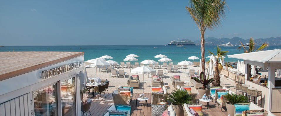 Hotel Croisette Beach Cannes - MGallery <span class='stars'>&#9733;</span><span class='stars'>&#9733;</span><span class='stars'>&#9733;</span><span class='stars'>&#9733;</span> - Plage privée & design flambant neuf à Cannes. - Cannes, France