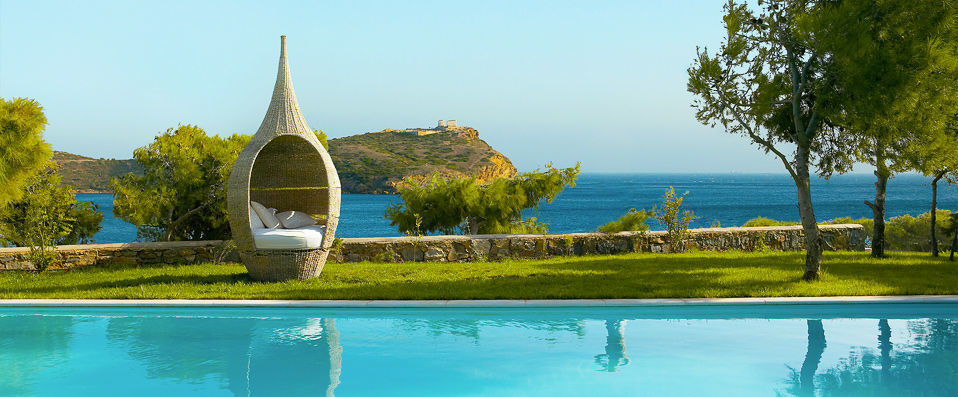 Cape Sounio <span class='stars'>&#9733;</span><span class='stars'>&#9733;</span><span class='stars'>&#9733;</span><span class='stars'>&#9733;</span><span class='stars'>&#9733;</span> - Exclusive five-star luxury surrounded by natural beauty. - Cap Sounion, Greece