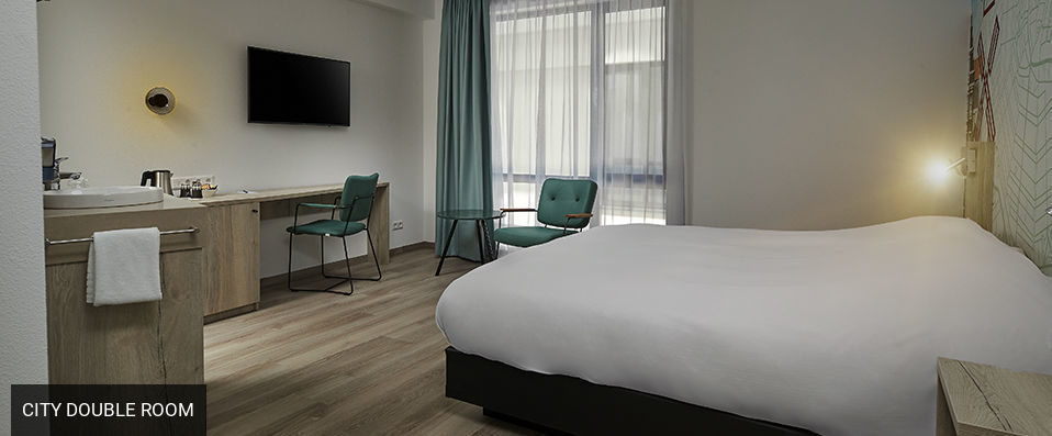 Inntel Hotels Amsterdam Centre <span class='stars'>&#9733;</span><span class='stars'>&#9733;</span><span class='stars'>&#9733;</span><span class='stars'>&#9733;</span> - A stylish yet unique experience in the beating heart of Amsterdam. - Amsterdam, Netherlands