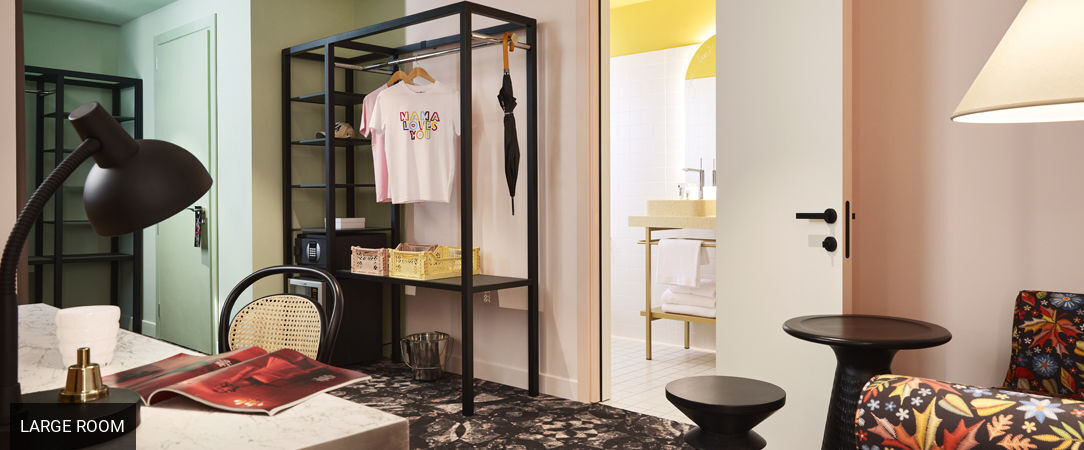 Mama Shelter Roma <span class='stars'>&#9733;</span><span class='stars'>&#9733;</span><span class='stars'>&#9733;</span><span class='stars'>&#9733;</span> - An alternative stay in the beautiful Rome. - Rome, Italy